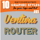 10 Illustrator Graphic Style - Retro Style Set Vol.3 - GraphicRiver Item for Sale