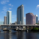 Marine Boat Ship Canal Downtown Urban Metro Skyline Tampa Bay Florida - PhotoDune Item for Sale