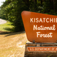 Sign Marking the Boundary of Kisatchie National Forest Protected - PhotoDune Item for Sale