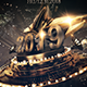 New Year Luxury Celebration A4 Poster - GraphicRiver Item for Sale