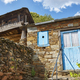 Traditional stone construction village with horreo storage in Asturias - PhotoDune Item for Sale