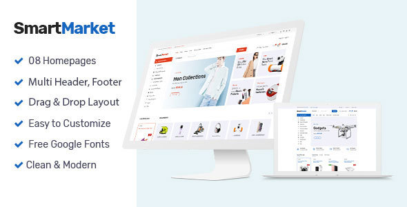 SmartMarket - Multipurpose Shopify Theme - Shopify eCommerce