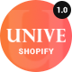 Unive - Multipurpose Shopify Theme - ThemeForest Item for Sale