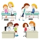 Set of Doctor and Kid - GraphicRiver Item for Sale