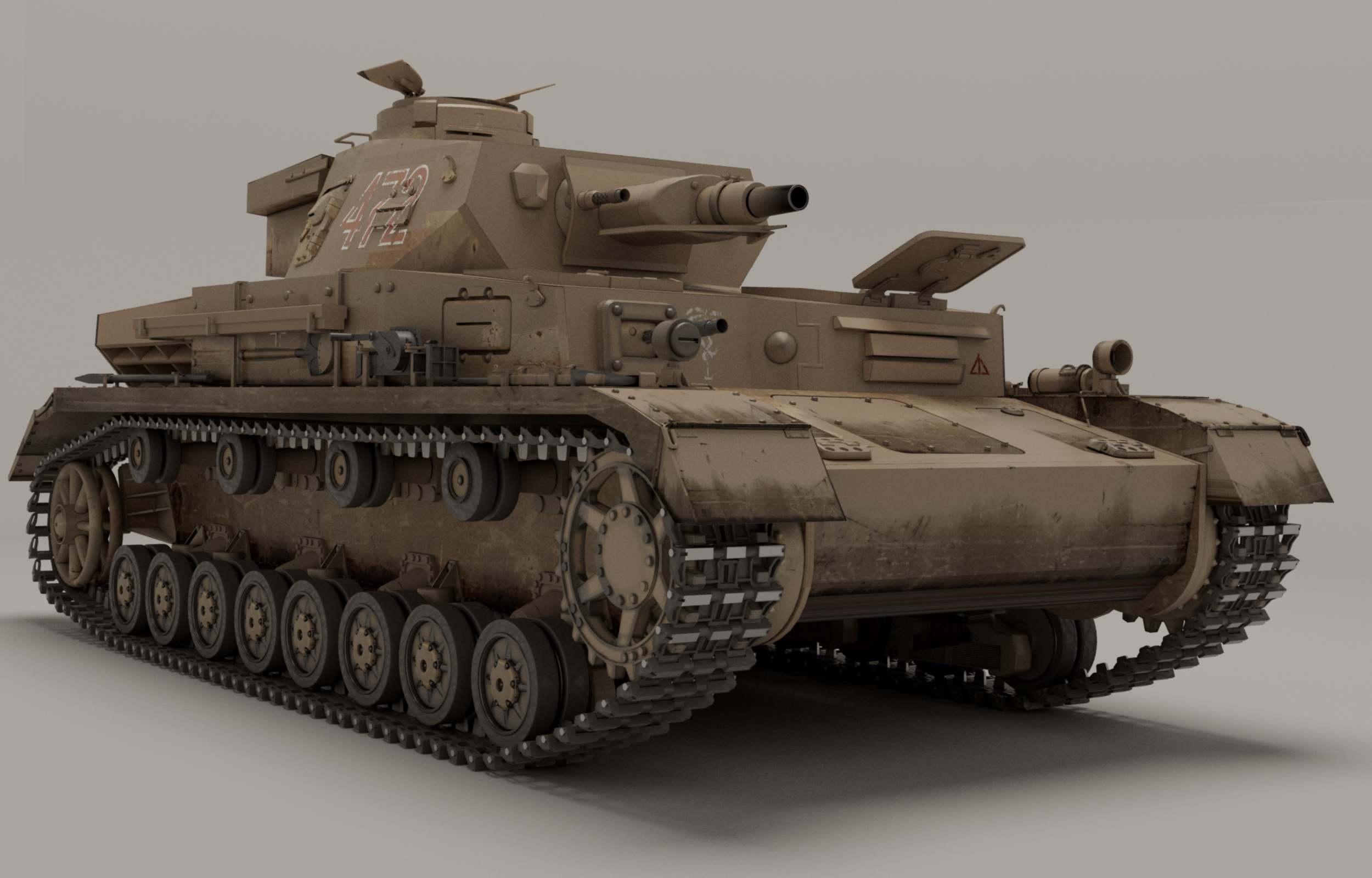 Panzer IV HD Wallpaper | Background Image | 2000x1226 | ID