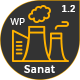 Sanat - Factory & Industry WordPress Theme - ThemeForest Item for Sale