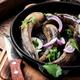 Raw fish in the pan - PhotoDune Item for Sale