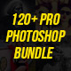 120+ Pro Photoshop Action Bundle - GraphicRiver Item for Sale