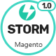 Free Download Storm - MultiStore Responsive Magento 2 Theme Nulled