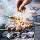 shish kebab on skewers, sprinkle cumin powder - PhotoDune Item for Sale