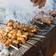 xinjiang roast lamb kebabs, sprinkle cumin powder - PhotoDune Item for Sale