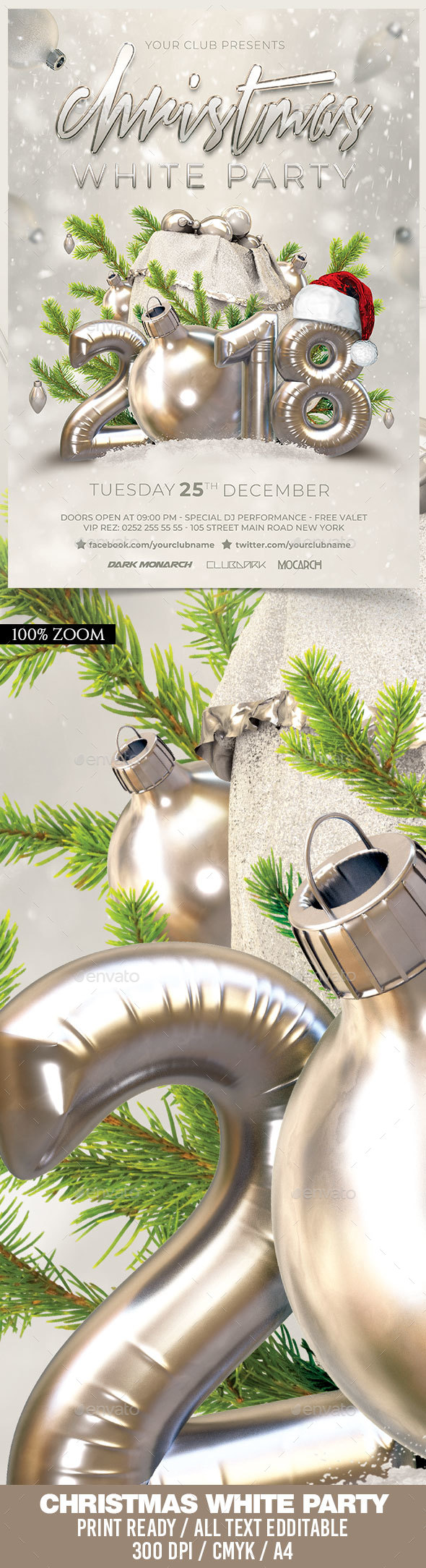 Christmas White Party - Holidays Events