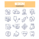 Medicine Doodle Icons - GraphicRiver Item for Sale