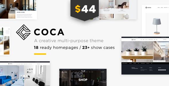 Architecture Coca - Interior Design and Architecture WordPress Architecture - Portfolio Creative