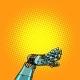 Robot Hand Presentation Gesture - GraphicRiver Item for Sale