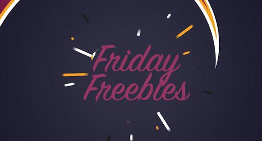 Friday Freebies - October 19 2018