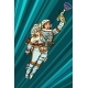 Superhero Woman Astronaut Paratrooper with Blaster - GraphicRiver Item for Sale