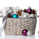 christmas basket - PhotoDune Item for Sale