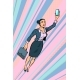 Woman Businesswoman, Superhero Flying - GraphicRiver Item for Sale
