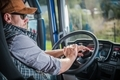 Truck Driver in the Cabin - PhotoDune Item for Sale
