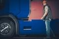 Semi Truck Stop Checkup - PhotoDune Item for Sale
