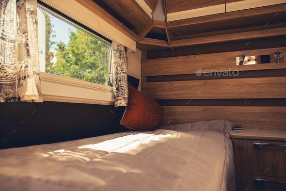 Comfortable Motorhome Interior - Stock Photo - Images