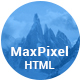 MaxPixel - Multipurpose Parallax Template - ThemeForest Item for Sale