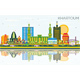 Khartoum Sudan City Skyline with Color Buildings - GraphicRiver Item for Sale