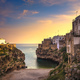 Polignano a Mare village at sunrise, Bari, Apulia, Italy. - PhotoDune Item for Sale