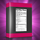 Nutrition Facts Label - VideoHive Item for Sale