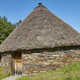Traditional spanish construction made with stones and conical roof. Palloza - PhotoDune Item for Sale