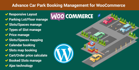 Advance Car Park Management for WooCommerce Free Download | Nulled