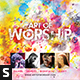 Art of Worship CD Album Artwork - GraphicRiver Item for Sale