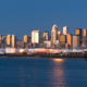 Sunset Light Reflects Off Buildings and Glass in Seattle Washington - PhotoDune Item for Sale