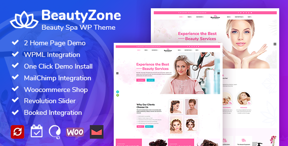 Beauty Spa Salon WordPress Theme