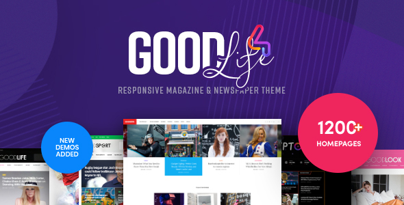 GoodLife - Responsive Magazine & Newspaper Theme