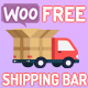 WooCommerce Free Shipping Bar - CodeCanyon Item for Sale