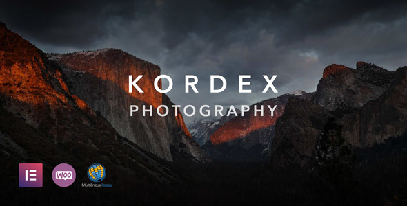 Kordex | Studio Photography for WordPress - Photography Creative