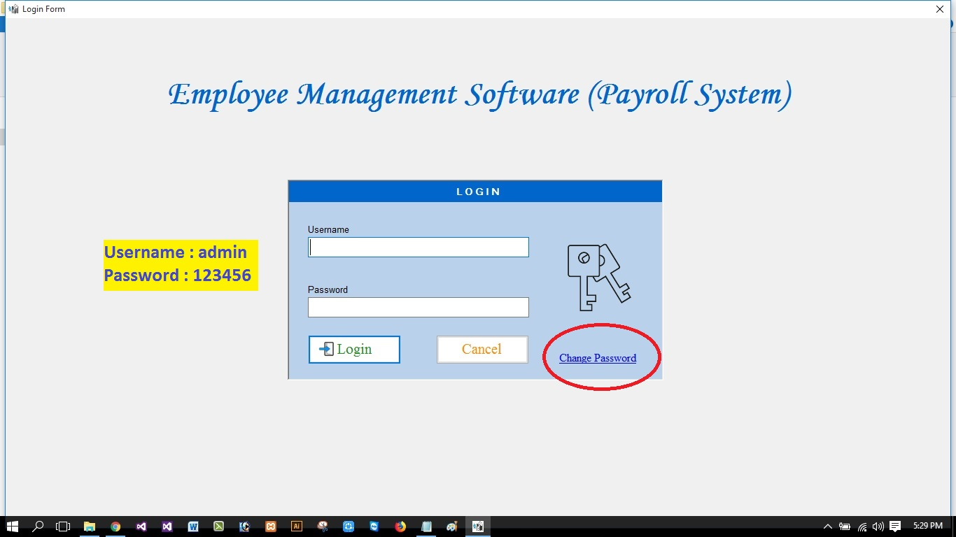 Employee Management System ( Payroll System ) With Full Source Code