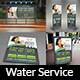 Water Treatment Services Advertising Bundle - GraphicRiver Item for Sale
