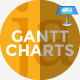 Gantt Charts Keynote Presentation Template for Mac - GraphicRiver Item for Sale