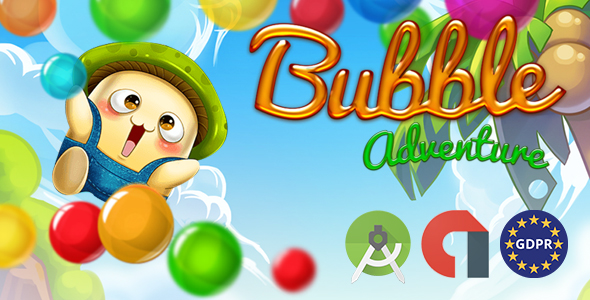 BUBBLE ADVETURE (Admob Banner and Interstitial ID & Reward video) - CodeCanyon Item for Sale