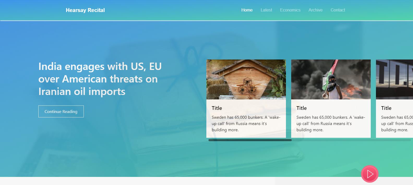 Smartscroll - News Feed Scrolling plugin - Angular 6 package