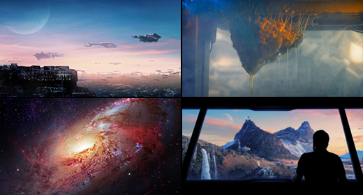Outer Space & Future Worlds