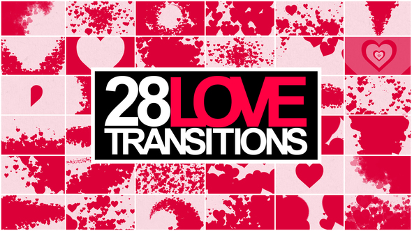 28 Love Transitions Video Pack