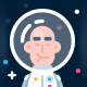 Error 404 Page Lost in Space - GraphicRiver Item for Sale