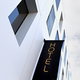 Hotel sign on a modern facade in the city - PhotoDune Item for Sale
