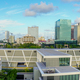 Wide Aerial Panoramic Photo Miami Urban Central Skyline South Florida - PhotoDune Item for Sale
