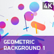 Geometric Background 1 - VideoHive Item for Sale