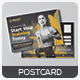 Fitness Postcard - GraphicRiver Item for Sale